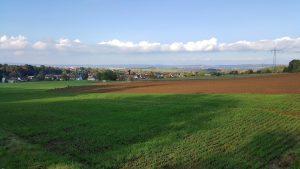 Blick über Vollmarshausen